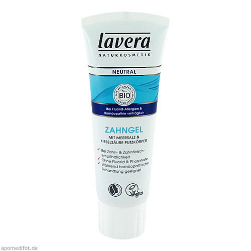 lavera Neutral Zahngel ab 2011, 75 ML, Laverana GmbH & Co. KG
