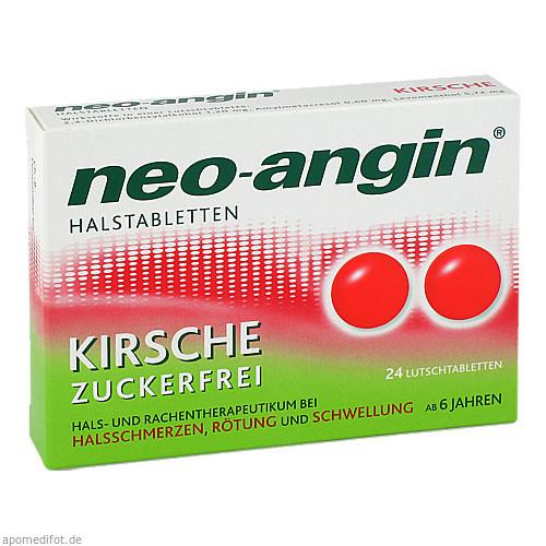 neo-angin Halstabletten Kirsche, 24 ST, MCM KLOSTERFRAU Vertr. GmbH