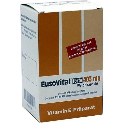 Eusovital forte 403mg, 50 ST, Strathmann GmbH & Co. KG