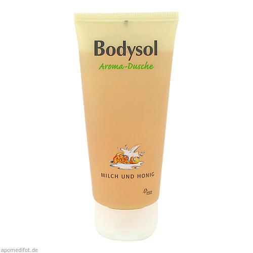 Bodysol Aroma-Duschgel Milch und Honig, 100 ML, Omega Pharma Deutschland GmbH