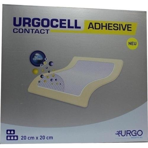 UrgoCell Adhesive Contact 20x20cm, 5 ST, Urgo GmbH