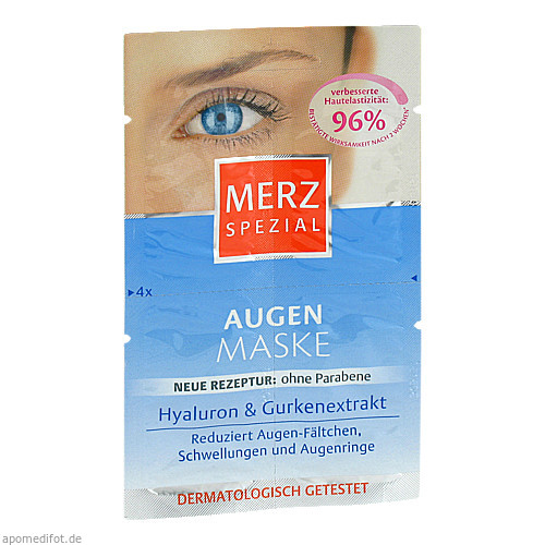 Merz Spezial Augen Maske, 4X1 ML, Merz Consumer Care GmbH