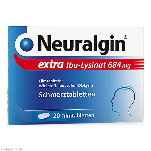 Neuralgin extra Ibu-Lysinat, 20 ST, Dr. Pfleger Arzneimittel GmbH