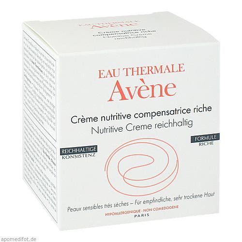 Avene Nutritive Creme reichhaltig, 50 ML, PIERRE FABRE DERMO KOSMETIK GmbH GB - Avene