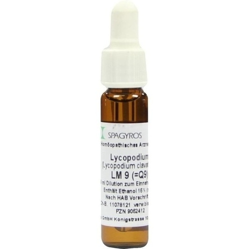 Lycopodium LM9, 9 ML, Spagyros GmbH