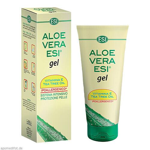 Aloe-Vera-Gel 99.9% + Vitamin E+Teebaumöl, 100 ML, Groß GmbH