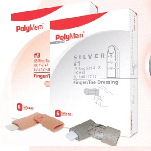 PolyMem Finger Wundschnellverband Gr.1, 6 ST, Mediset Clinical Products GmbH
