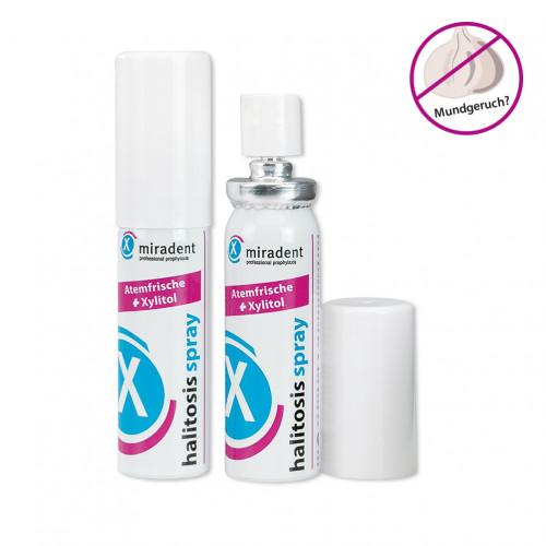 MIRADENT Mundpflegespray halitosis Spray, 15 ML, Hager Pharma GmbH