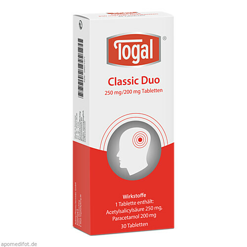 Togal Classic Duo, 30 ST, Kyberg experts GmbH