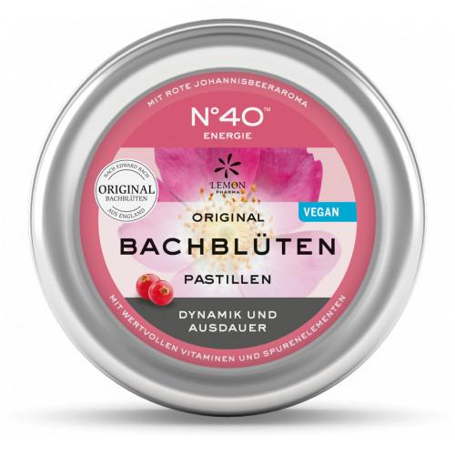 ENERGIE Bachblütenpastillen nach Dr. Bach, 50 G, Lemon Pharma GmbH & Co. KG
