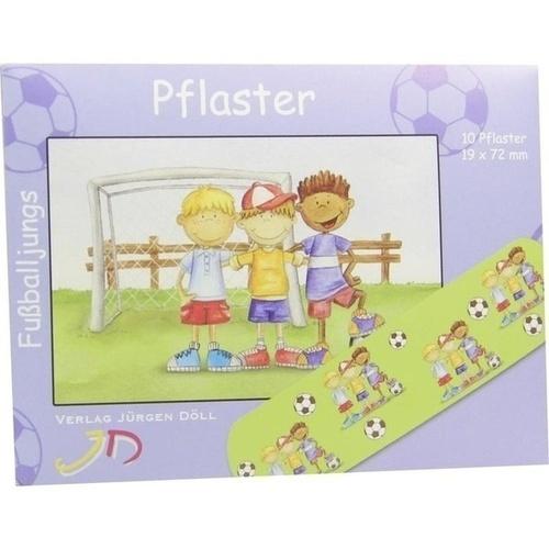 KINDERPFLASTER FUSSBALLJUNGS - BRIEFCHEN, 10 ST, Axisis GmbH