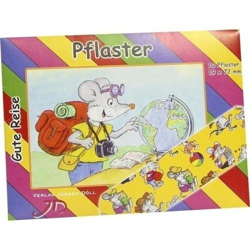 KINDERPFLASTER GUTE REISE - BRIEFCHEN, 10 ST, Axisis GmbH