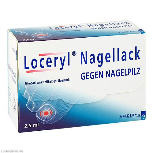 Loceryl Nagellack gegen Nagelpilz, 2.5 ML, Galderma Laboratorium GmbH
