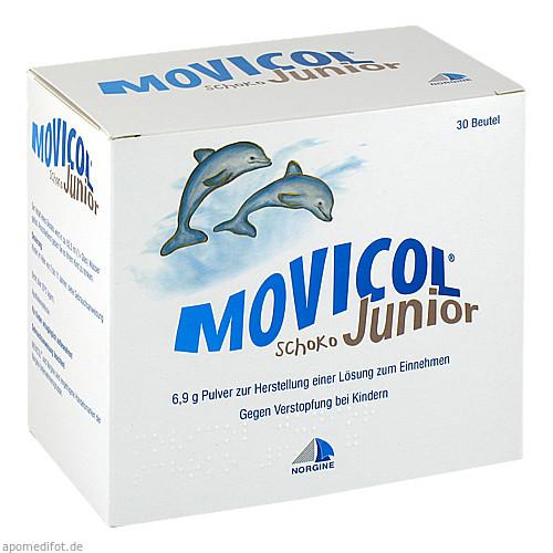 MOVICOL Jun.Schoko Pulv.z.Herst.e.Lsg.z.Einnehmen, 30X6.9 G, Norgine BV
