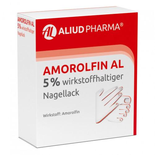 Amorolfin AL 5 % wirkstoffhaltiger Nagellack, 5 ML, Aliud Pharma GmbH