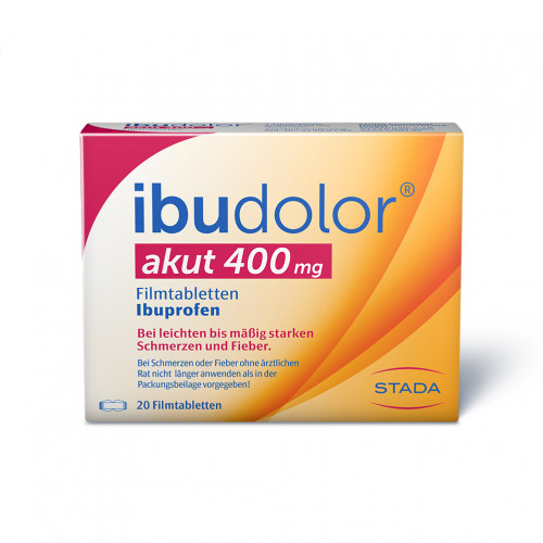 IBUDOLOR akut 400 mg Filmtabletten, 20 ST, STADA GmbH