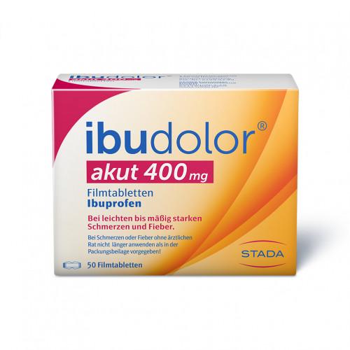 ibudolor akut 400mg Filmtabletten, 50 ST, STADA GmbH