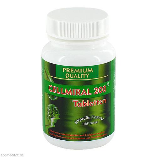 CELLMIRAL 200 Tabletten, 60 ST, NOWAK GmbH