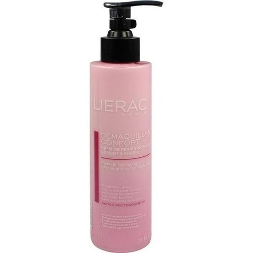 LIERAC Reinigungsmilch Demaquillant Confort, 200 ML, Ales Groupe Cosmetic Deutschland GmbH