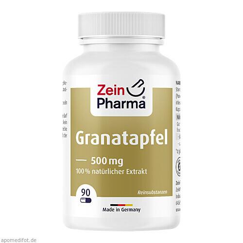 Granatapfel Kapseln 500mg, 90 ST, Zein Pharma - Germany GmbH