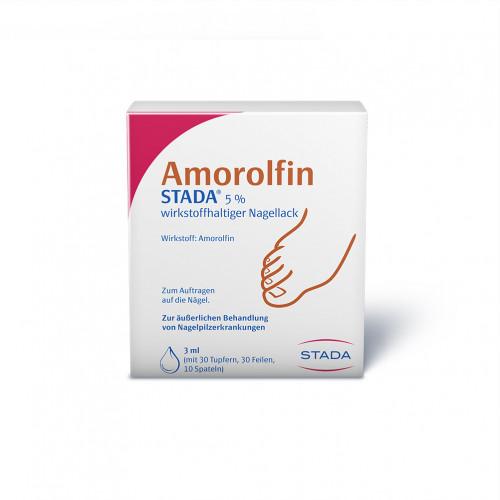 Amorolfin STADA 5% wirkstoffhaltiger Nagellack, 3 ML, STADAPHARM GmbH