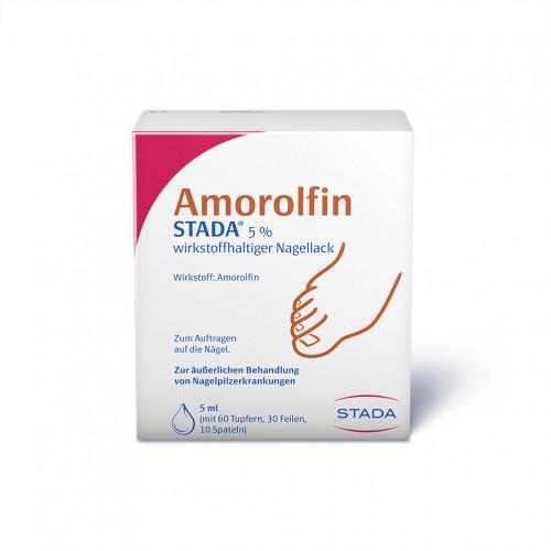 Amorolfin STADA 5% wirkstoffhaltiger Nagellack, 5 ML, STADAPHARM GmbH