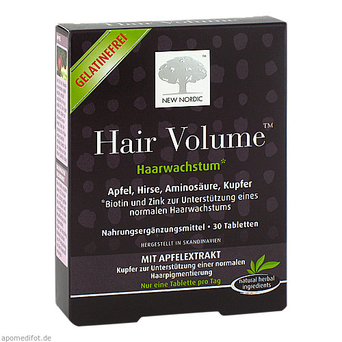 Hair Volume, 30 ST, New Nordic Deutschland GmbH