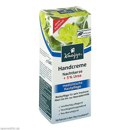 Kneipp Handcreme Nachtkerze + 5% Urea, 50 ML, Kneipp GmbH