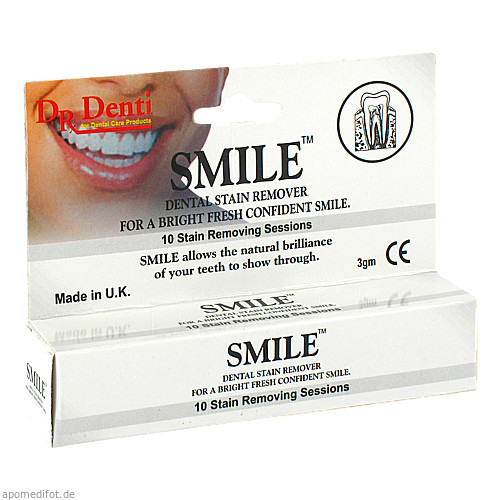 Zahnpolierpaste Smile, 1 ST, Megadent Deflogrip Gerhard Reeg GmbH
