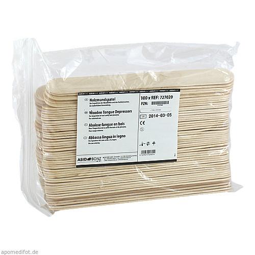 Holzmundspatel unsteril, 100 ST, Asid Bonz GmbH
