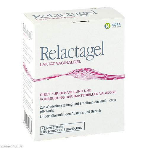 RELACTAGEL Vaginalgel, 7X5 ML, KORA HEALTHCARE Ltd.
