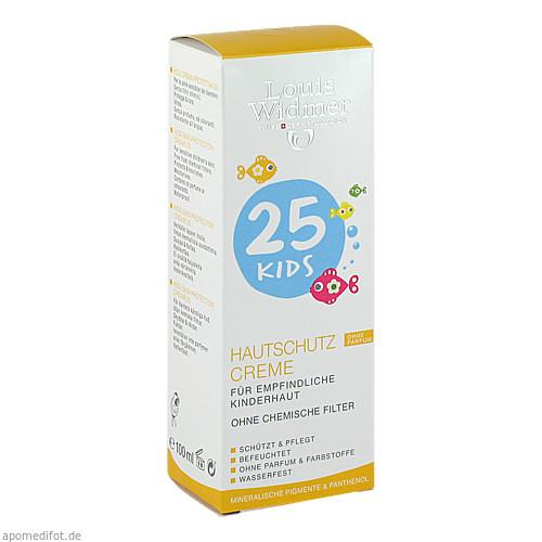 Widmer Kids Hautschutz Creme SPF25 Sportt.+Lip.unp, 25 ML, Louis Widmer GmbH