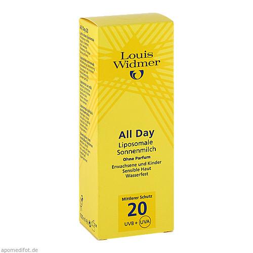 WIDMER All Day 20 nicht parfümiert, 100 ML, Louis Widmer GmbH