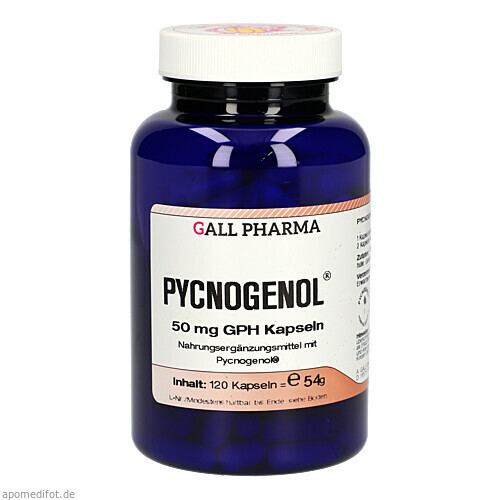 Pycnogenol 50mg GPH Kapseln, 120 ST, Hecht-Pharma GmbH