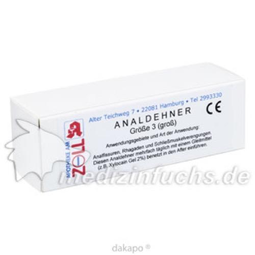Analdehner 3 Gross, 1 ST, Apotheke am Zoll Andres Bittner