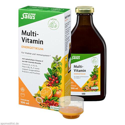 Multi-Vitamin-Energetikum Salus, 500 ML, Salus Pharma GmbH