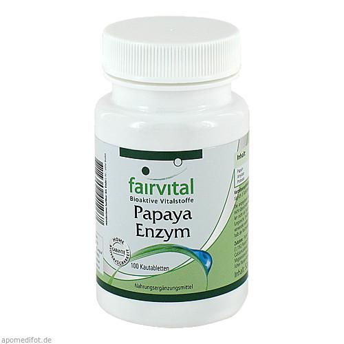 Papaya Enzym, 100 ST, Fairvital B. V.