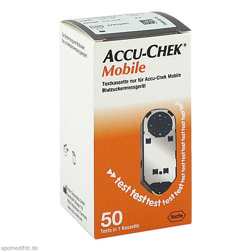 ACCU Chek Mobile Testkassette Plasma II, 50 ST, Orifarm GmbH
