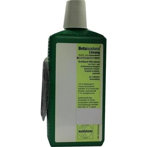 BETAISODONA Loesung, 500 ML, Aca Müller/Adag Pharma AG