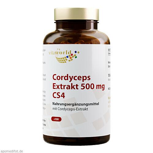 Cordyceps Extrakt 500mg, 100 ST, Vita World GmbH