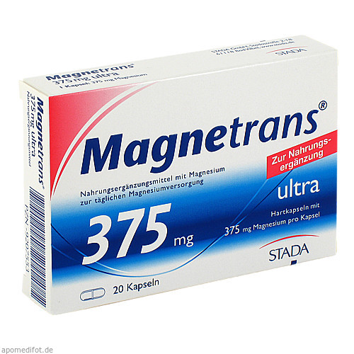 Magnetrans 375mg ultra Kapseln, 20 ST, STADA GmbH