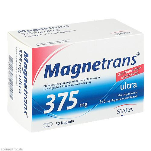 Magnetrans 375mg ultra Kapseln, 50 ST, STADA GmbH