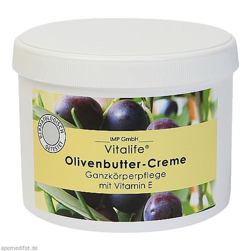 OLIVENBUTTER Creme Vit.E, 500 ML, Imp GmbH International Medical Products
