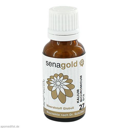 Biochemie Senagold Nr. 27 Kalium bichromicum D12, 20 G, Senagold Naturheilmittel GmbH