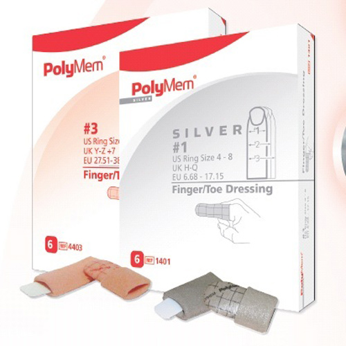 PolyMem Finger Silber Gr.3, 6 ST, Mediset Clinical Products GmbH