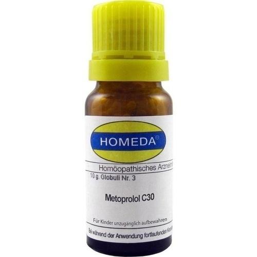 HOMEDA Metoprolol C 30 Globuli, 10 G, Homeda Pharma GmbH