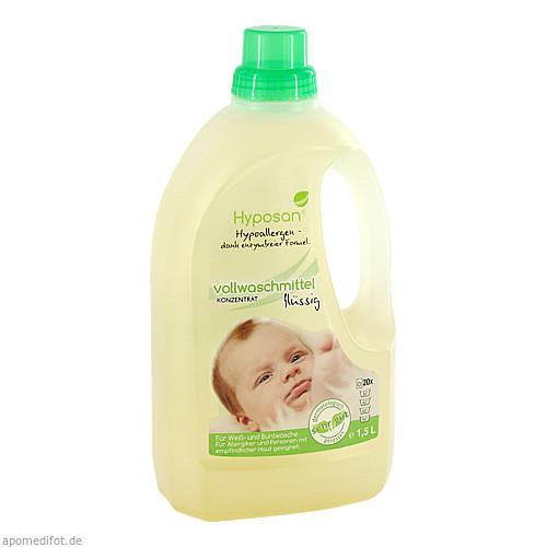 Hyposan Vollwaschmittel flüssig für Allergiker, 1.5 L, Hyposan Thorsten Ortgies