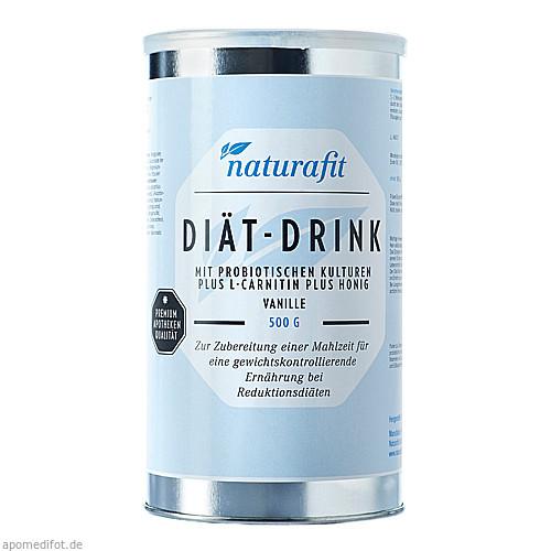Naturafit Diätdrink Vanille, 500 G, Naturafit GmbH