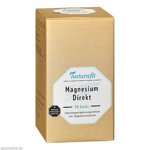 Naturafit Magnesium Direkt, 30 ST, Naturafit GmbH