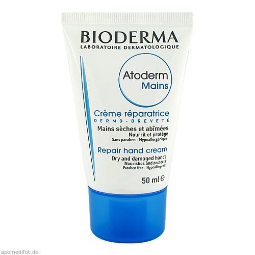 BIODERMA ATODERM MAINS Handcreme, 50 ML, Aktiv-Derma GmbH